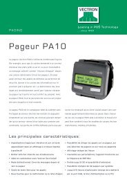Pageur PA10 - Vectron Systems AG