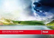 Referenzhandbuch Hallenklimasysteme - Hoval