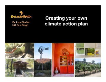 Creating your own climate action plan - Rancho La Puerta