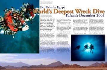 Finding Yolanda - X-Ray Magazine