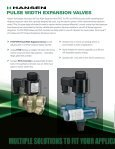 Pulse Width Expansion Valve (PXV) - Hansen Technologies - Page 2