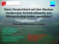 Kann Deutschland auf den Neubau modernster Kohlekraftwerke aus ...