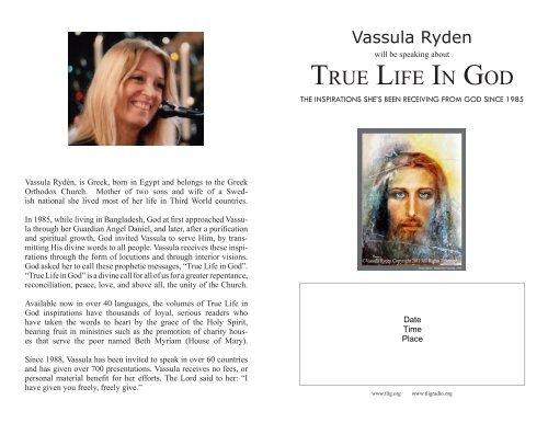 pdf. - True Life In God