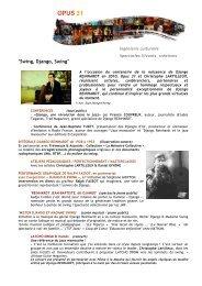 BIS2010 Doc Swing et LD - Opus 31