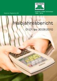 Halbjahresbericht 2010 - Vectron Systems AG
