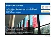 Seminar WS 2012/2013 - Wirtschaftsinformatik - Technische ...