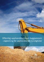 för upphandlande myndigheter - Upphandlingsstöd.se