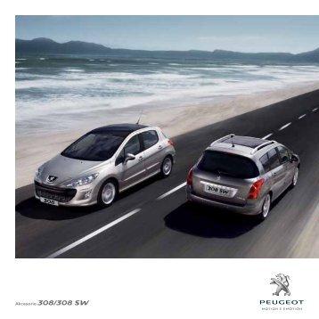 Akcesoria 308/308 SW - Peugeot