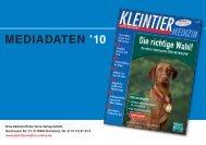 MEDIADATEN '10 - Terra-Verlag