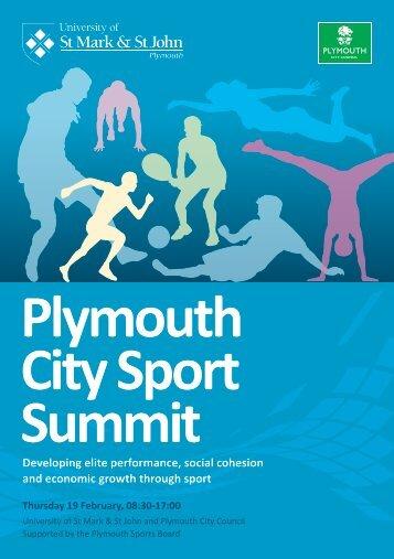 2015---Plymouth-City-Sport-Summit-Programme