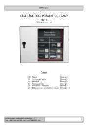 Manuál ke stažení v PDF - Profesionální protipožární systémy