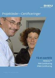 Projektleder-certificering - DIEU A/S