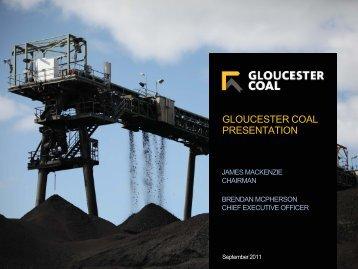 Gloucester Coal