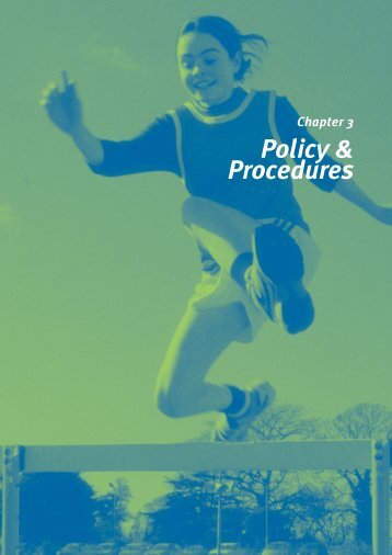 Policy & Procedures - The Irish Sports Council