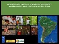 Projeto de Conservação da Biodiversidade e Uso ... - Sema/MT
