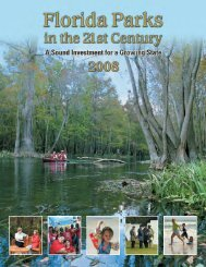 Florida's Parks in the 21st Century - Florida Recreation and Park ...