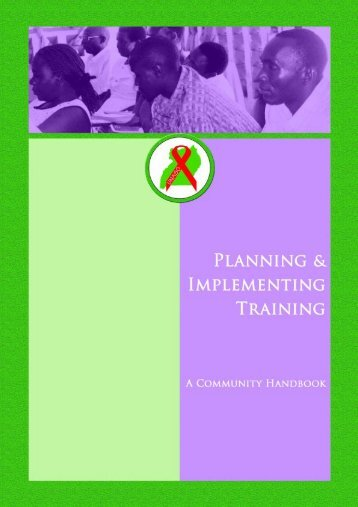 Planning and Implementing Training - A ... - World Education