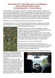 Rundtur 2011 - Campisternes Rejseportal