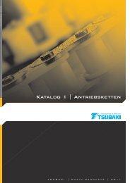 Katalog 1 | Antriebsketten - Tsubaki Europe