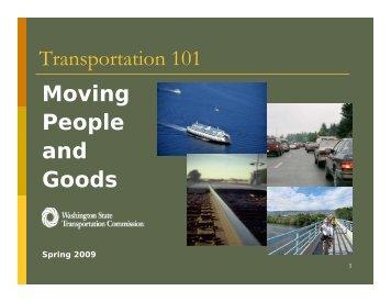 Moving People - Washington State Transportation Commission