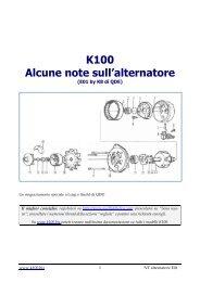 Nota tecnica alternatore - K100.biz