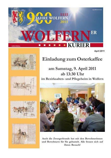 Home - Aktuelles - Veranstaltungen - Wolfern, O
