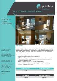 T0 – STUDIO RESIDENCE ANTAS - EGO Real Estate