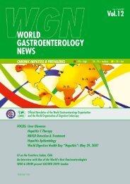 WGN Spring 2007 - World Gastroenterology Organisation