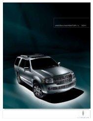 LINCOLN NAVIGATOR + L 2011 - Alpine Armoring Inc.