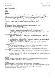 Revideret forslag til sn 25. november 2011 Godkendt af SN 19 ...