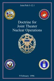 JP 3-12.1 Doctrine for Joint Theater Nuclear Operations