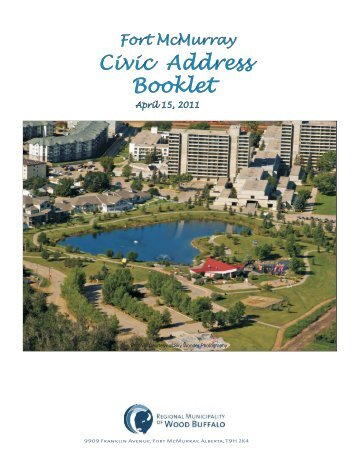 Fort McMurray Civic Address Book - Regional Municipality of Wood ...