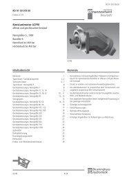 Konstantmotor A2FM - Group VH A/S