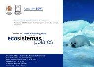 Impactos del calentamiento global sobre los ecosistemas polares
