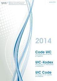 Download die druckfertige Fassung des UIC-Kodex