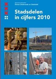 Stadsdelen in cijfers 2010 - Onderzoek en Statistiek Amsterdam ...
