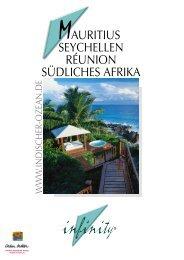 AURITIUS SEYCHELLEN RÉUNION SÜDLICHES AFRIKA
