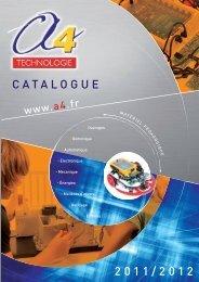 CATALOGUE 2011/2012