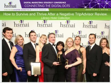 How to Survive and Thrive After a Negative TripAdvisor ... - hsmai