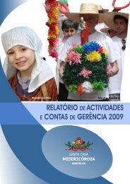 RELATÓRIO DE ACTIVIDADES E CONTAS DE GERÊNCIA 2009 ...