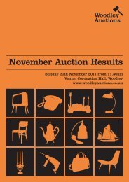 November Auction Results - Woodley Auctions
