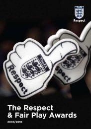 The Respect & Fair Play Awards 2009/10 - The Football Association