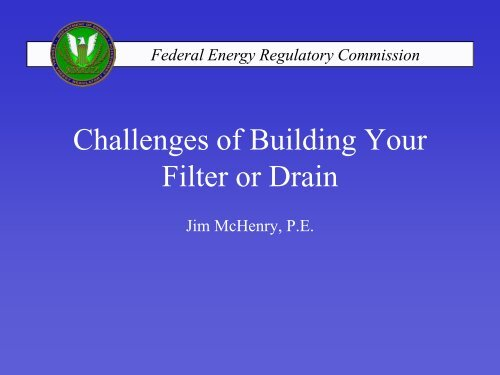 Challenges of Building Your Filter or Drain
