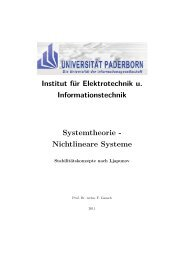 Nichtlineare Systeme