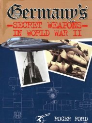 Submarines and their Weapons - Aircraft of World War II