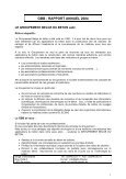 RAPPORT ANNUEL 2004 - GBB - Page 2