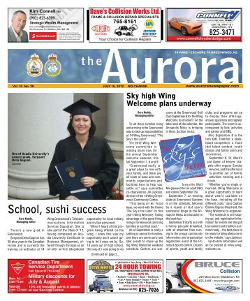July 16 2012 - The Aurora Newspaper