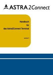 Handbuch für das Astra2Connect Terminal - Satelco