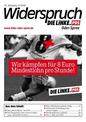 DIE LINKE. Kreisverband Oder-Spree