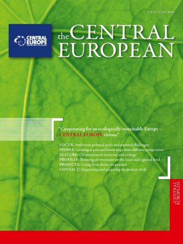 """Cooperating for an ecologically sustainable Europe ... - Cilj 3"